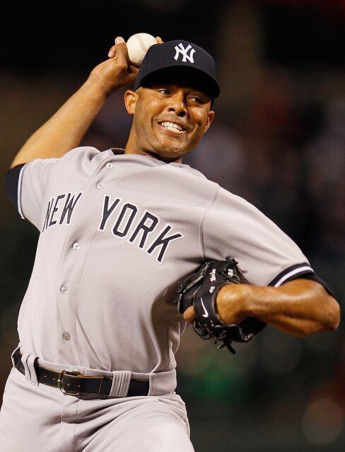 Mariano Rivera of the New York Yankees