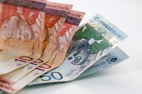 Ringgit Falls Most in 3 Weeks, Bonds Drop on Fitch Outlook Cut