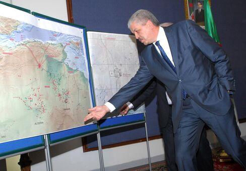 Algeria's prime minister Abdelmalek Sellal