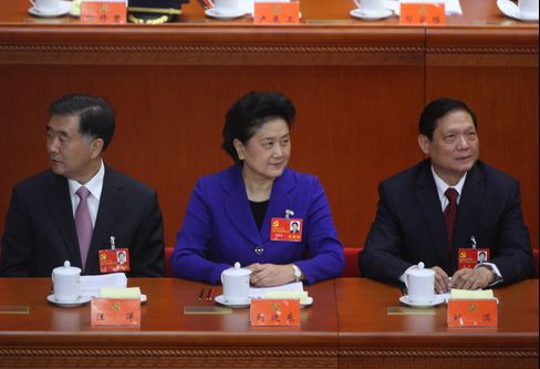 Women in China Leadership Fewer Than Under Mao