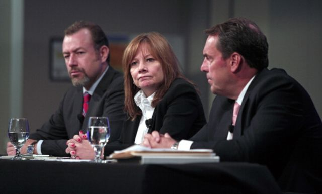 GM's Mary Barra went for caution over accountability.