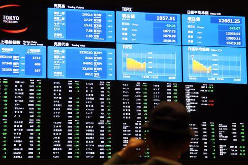 Asian Stocks Rebound From $1.1 Trillion Correction on U.S. Data