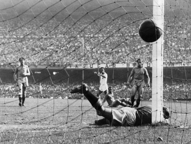 Brazil wouldn't have gotten past India's defense ... back in 1950.