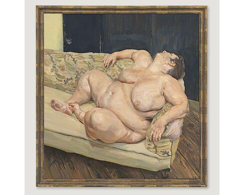 Lucian Freud, Benefits Supervisor Resting, 1994