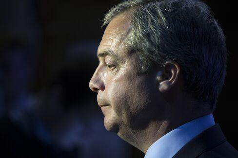 U.K. Independence Party Leader Nigel Farage