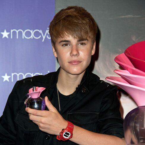 Justin Bieber Fragrance Launch