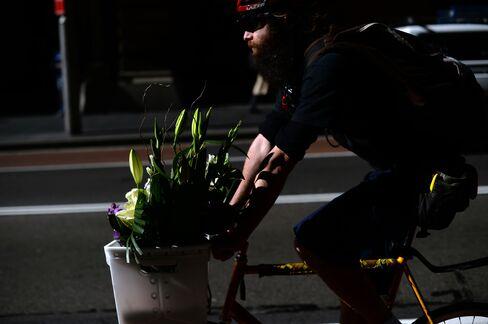 Bike Messenger in Sydney