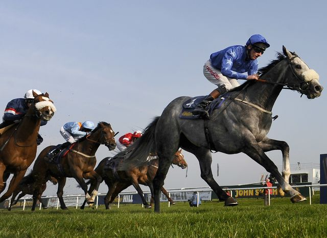 There's horse racing in this post, but it's subtle. Photographer: Alan Crowhurst/Getty Images