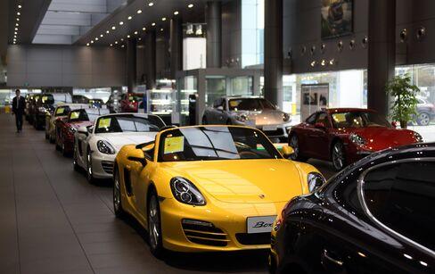 Porsche Showroom in Shanghai