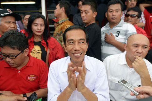 Jakarta Governor Joko Widodo
