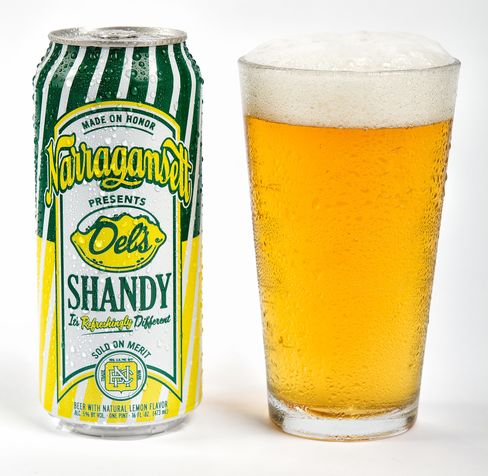Narragansett's beer lemonade Shandy.