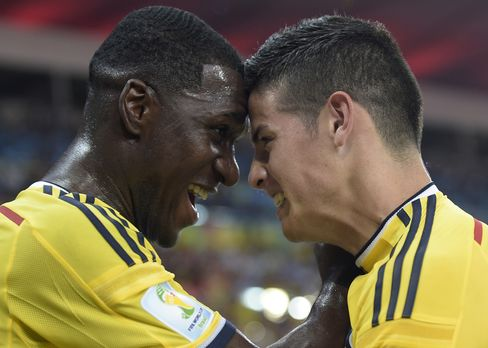 Colombia Scores