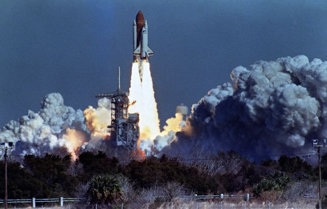 What caused the Challenger disaster? It's not what people think. Photographer: Bob Pearson/AFP/Getty Images