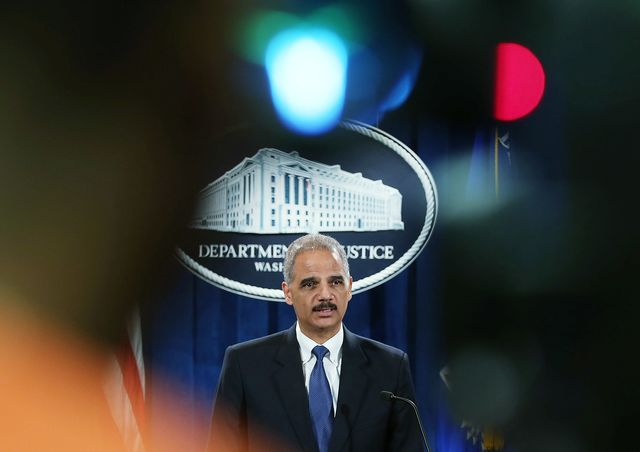 So how wrong were Eric Holder's numbers at this October 2012 news conference? Photographer: Mark Wilson/Getty Images