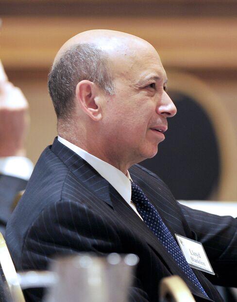 Lloyd C. Blankfein, chairman and CEO of Goldman Sachs