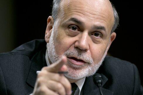 Former Fed Chairman Ben S. Bernanke On May 22, 2013