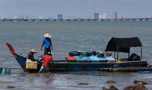 Fishermen in Malaysia