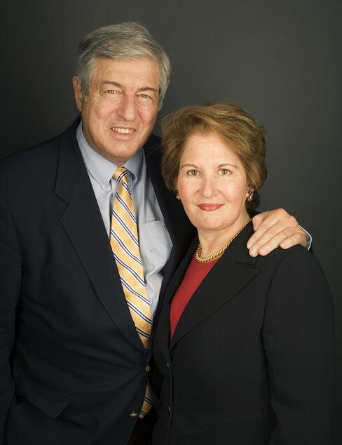 Tom and Nina Zagat