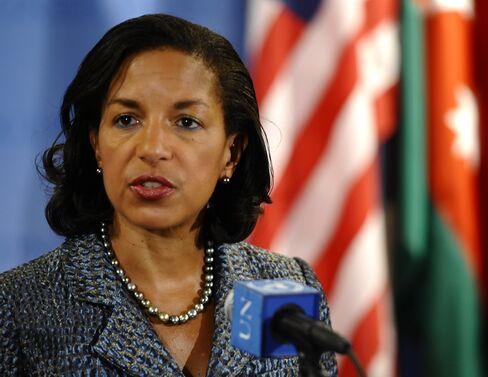 U.S. Ambassador to the UN Susan Rice