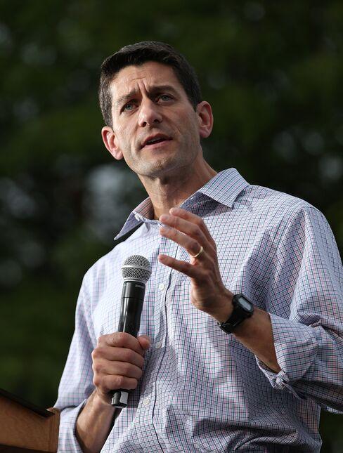 Republican Vice Presidential Candidate Rep. Paul Ryan