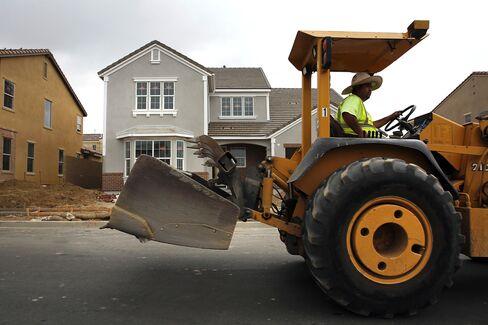 Homebuilders Leading U.S. Consumer Stocks