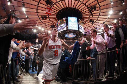 NY Knicks Player Pablo Prigioni