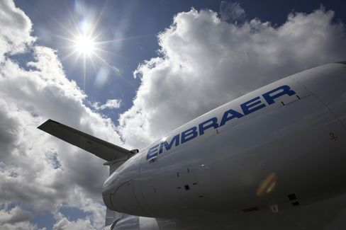 Embraer Sacrifices Margins for U.S. Jet Sales