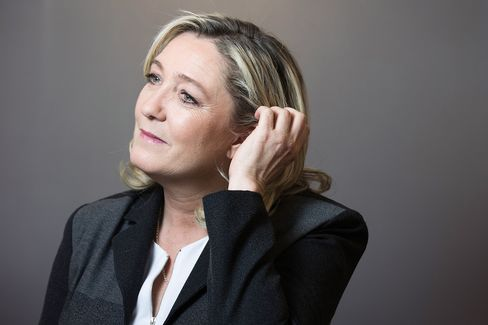 National Front Party President Marine Le Pen