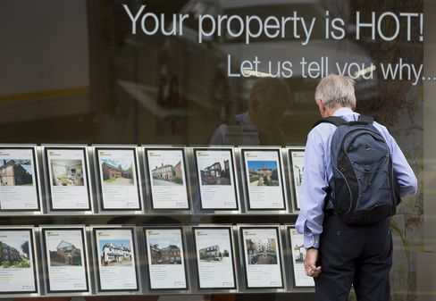 U.K. House Prices Increase