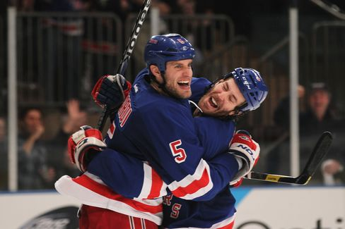 Rangers Defeat Senators to Reach Second Round of NHL Playoffs