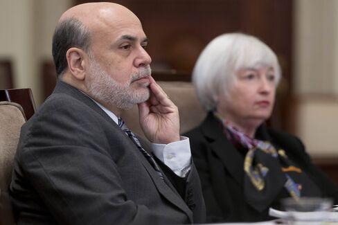 Fed Chairman Ben S. Bernanke and Vice Chairman Janet Yellen
