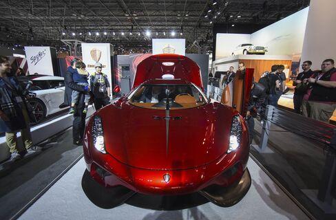 The Koenigsegg Regera.