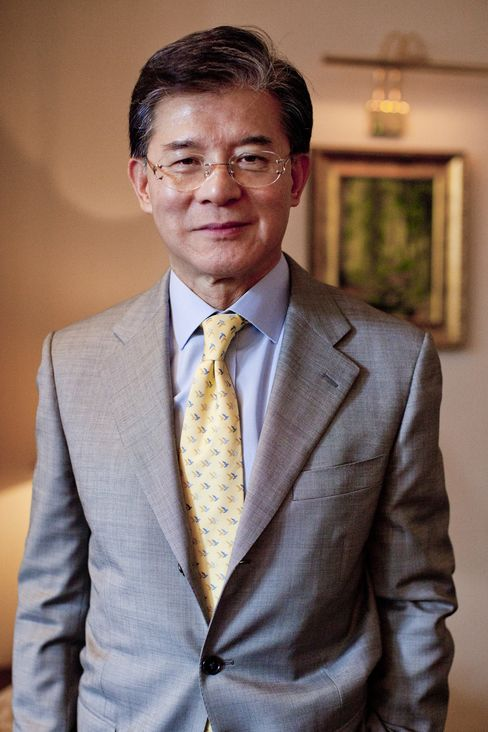 Vincent Lo, chairman of Shui On Land Ltd.