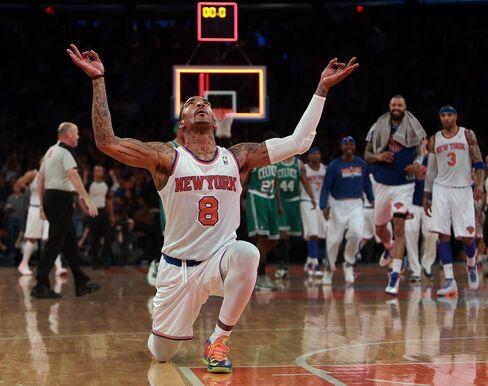 NY Knicks Player J.R. Smith