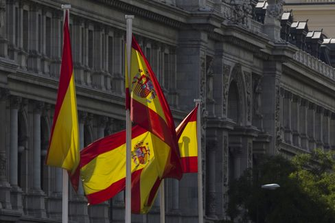 Spanish Bonds Rise Third Day as Borrowing Costs Decline at Sale