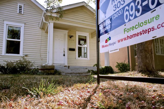 Going slow on foreclosures may not be such a bad idea. Photographer: Matthew Staver/Bloomberg