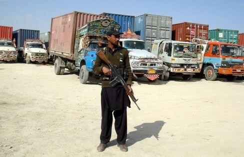 U.S. Military Supplies Halted, Strike Kills Pakistan Troops