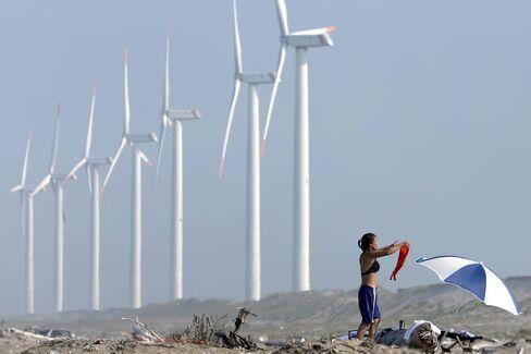 Wind Farm in Japan
