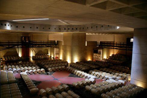 O. Fournier Barrel Cellar