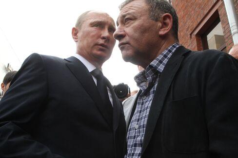 Vladimir Putin and Arkady Rotenberg