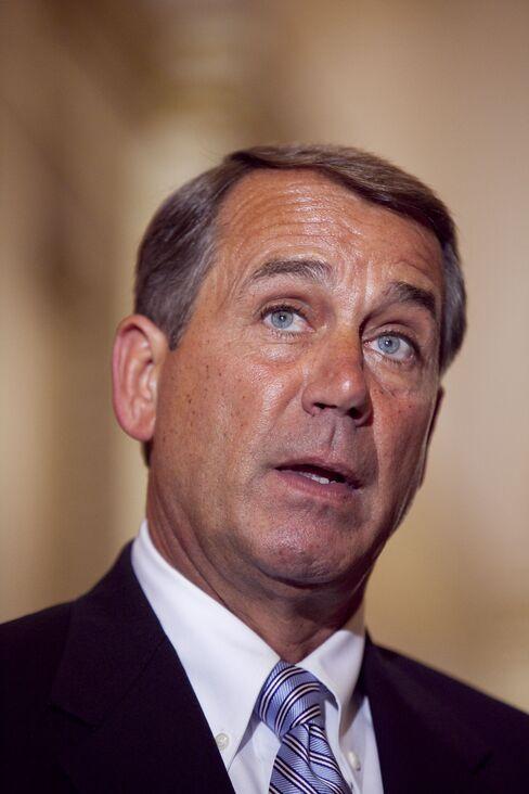 U.S. House Minority Leader John Boehner