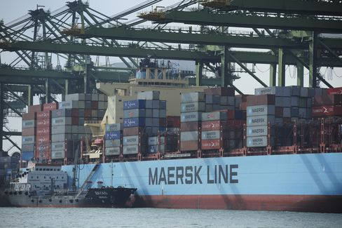 Euro-Region Weakness Tests Maersk Competition Armistice