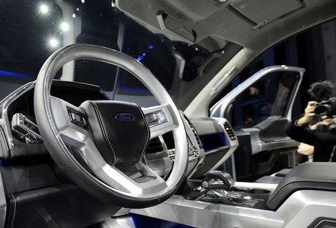 Ford F-150 Atlas Concept Interior