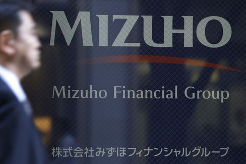 Mizuho Financial Group headquarters in Tokyo