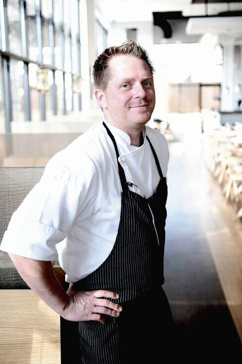 Triniti Restaurant + Bar Chef Ryan Hildebrand