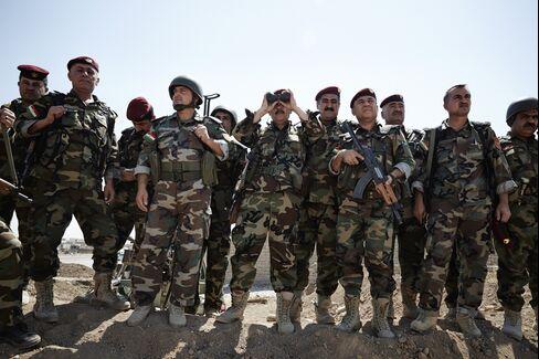 Pershmerga Fighters in Iraq