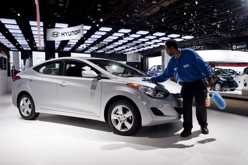 Hyundai Rattles Volkswagen in Europe After Winning in US