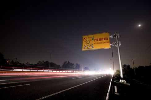 Dial-a-Chauffeur Demand Pops As China Jails Drunk Drivers