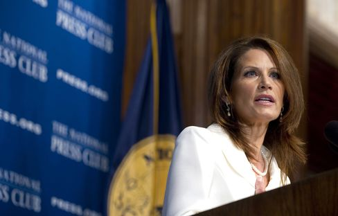 Bachmann Says Entitlements Should Be Cut