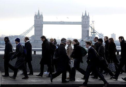 Thatcher Economic Legacy Sees Employment Rising Amid U.K. Slump